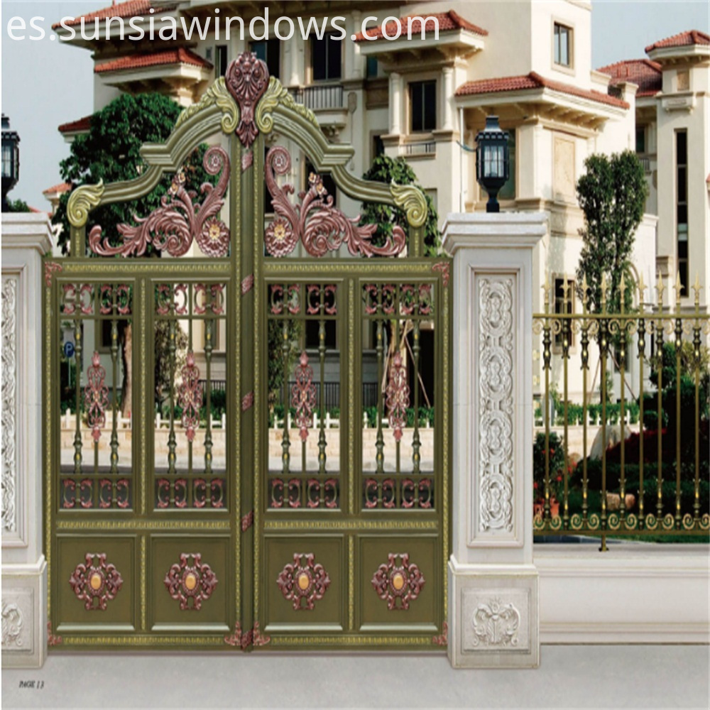 Courtyard Gates Design