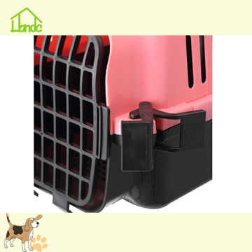 Moda portatile in plastica Pet Carrier Cage per cani