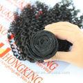 Cheveux indiens en gros afro kinky extensions de cheveux gris cheveux humains tissage