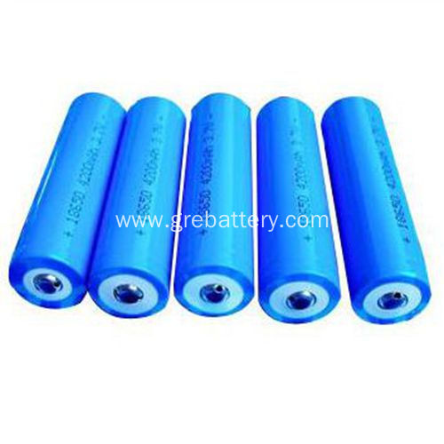 18650 3.7V 2000mAh Lithium Ion Rechargeable Cell