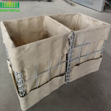 HGMT welded hesco military barrier factory