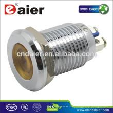 Daier GQ12AS-д 12мм металл 220 вольт светодиодные индикаторы