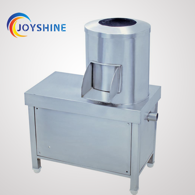 automatic control potato washing peeling machine
