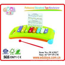 Ксилофон музыкальный пластиковый инструмент