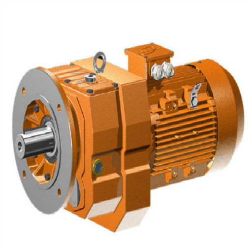 Electric Motor Speed Reducer with Output Shaft