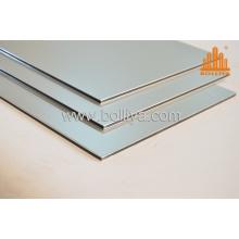 PVDF Decoration Composite Panels/PVDF Aluminum Composite Sheets Mt-2002 Metallic Silver
