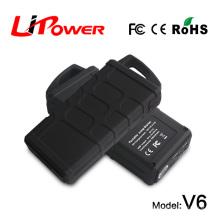 Puissant démarreur de puissance de batterie au lithium de 20000mAh puissant Station de démarrage 3 en 1 avec adaptateur secteur
