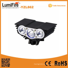 1200 Lumens recargable LED faro multifunción LED bicicleta luz