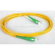 Шэньчжэнь завод поставки SC APC волоконно-оптический патч-корд, SC одномодового волокна патч-кабель с дешевой цене