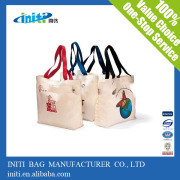 2016 Factory Recycled Custom printed stylish canvas duffle bags