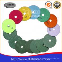 Od100mm Pedra Dry polimento pad