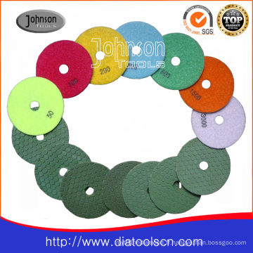 Od100mm Stone Dry Polishing Pad