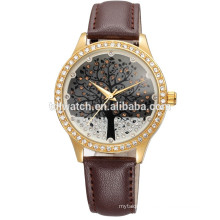 skone 9195 bling dial tree face watches