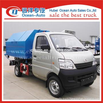 CCAG mini roll-off lift garbage truck