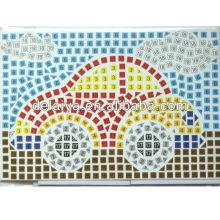EVA mosaic sticker sheet for car