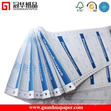 SGS 3-Ply ordenador de papel de impresión con un precio razonable