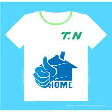 T-shirt da forma, ajuste seco camiseta