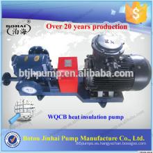 Chaqueta aislante bomba Bomba de calor asfáltica Bomba de engranajes de alta temperatura y alta presión