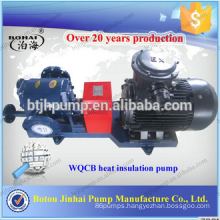 Jacket insulation pump Asphalt heat pump High temperature and high pressure gear pump