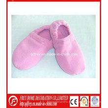 Zapatillas más cálidas de aromaterapia con bolsa de trigo microondas