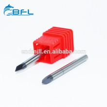 BFL Гравировальный инструмент из карбида вольфрама с 3 оловянными концевыми фрезами