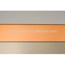 Panneau composite aluminium brossé alucobon alucabond