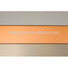 Щеткой алюминиевая составная панель alucobon alucabond