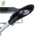 High lumen bridgelux cob IP67 waterproof 20w 30w 40w 50w 80w solar led street lamp