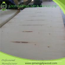 Dos veces caliente prensan madera contrachapada del álamo de 9m m con buen precio