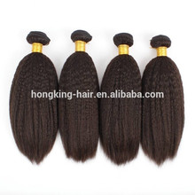 Wholesale Price Remy Indian Hair Yaki Straight Human Hair Weave