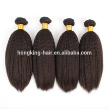 Wholesale Price Remy Indian Hair Yaki Straight Human Hair Weave