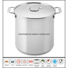 Deep Soup Pot Stainless Steel Stockpot