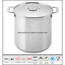 Deep Soup Pot Stainless Steel Stockpot