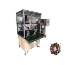 Máquina automática de bobinado de aguja de dos estaciones de trabajo