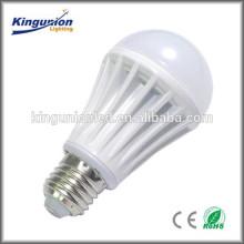 Горячий свет сбывания высокий и дешевое цена сделанное в фарфоре AC 220V E27 5w вело шарик