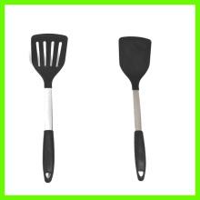 FDA LFGB Silicone Slotted Turner spatula
