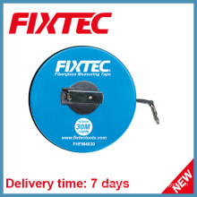 Fixtec ручными инструментами 30м АБС-пластиков, стекловолокна измерительная лента