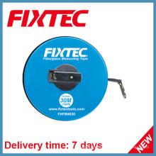 Fixtec Handwerkzeuge 30m ABS Kunststoff Fiberglas Messband