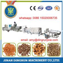 150 kg por hora de máquina de alimentos para perros mascota