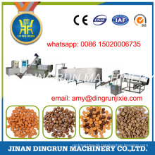 250kg per hour dry type pet feed machine