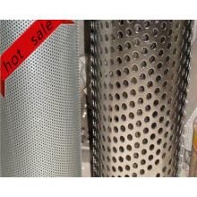 Aluminio / acero perforado de uso amplio de metal para el filtro
