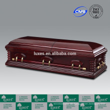 Schloss China beliebte Sarg & Sarg billig Bestattung Holzschatulle China produziert