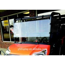 Acrylic Windshield for Golf Car