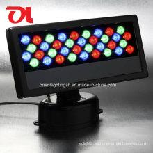 LED de 40W RGB base giratoria de la pared de la lavadora de pared Floodlight