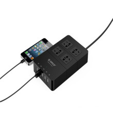 Chrismas ORICO HPC-4A5U 4 tomacorrientes con 5 puertos USB