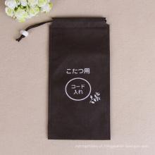 Saco de cordão de pano fabricante profissional