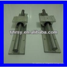 Fornecimento TBR alumínio Trilho de guia linear e bloco TBR30
