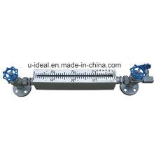 Indicador de nivel tubular de vidrio de cuarzo para fluido de alta temperatura