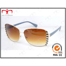 Fashion UV400 Metal Sunglasses with Exquisite Decoration (KM15034)
