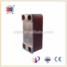 Jiangyin 6z brasées échangeur à plaques, refroidisseur d'huile Chine pour machine cnc